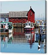Motif #1, Rockport Ma, 1 Canvas Print