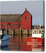 Motif No. 1 Reflections Rockport Massachusetts Canvas Print