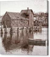 Motif Number 1 - Black And White Canvas Print