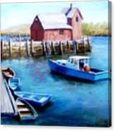 Motif One Rockport Harbor Canvas Print