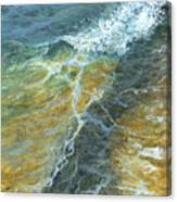 Motion Of The Ocean Canvas Print