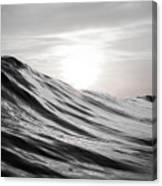 Motion Of Water Canvas Print
