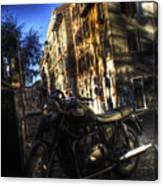 Moto 2 Canvas Print