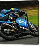 Moto Grand Prix Canvas Print