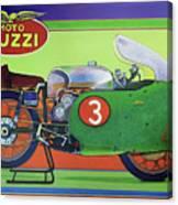 Moto Guzzi V8 Canvas Print