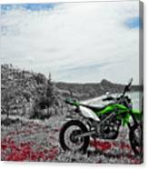 Motocross Canvas Print