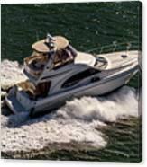 Motor Boat 2 Canvas Print