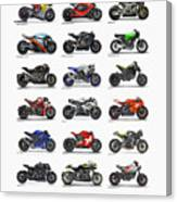 Motorcycle Concepts 2017-2018 Canvas Print