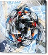 Motorcycle Mixup Canvas Print