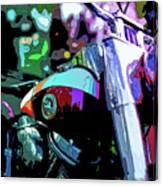 Motorcycle Poster IIi Canvas Print