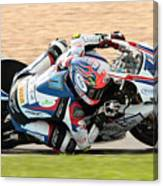 Motorcycle Racing Canvas Print