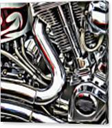 Motorcycle Reds Canvas Print