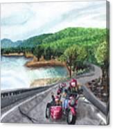 Motorcycle Ride Canvas Print