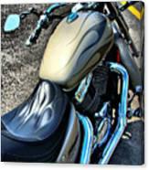 Motorcycle Shadow Sabre 2 Canvas Print