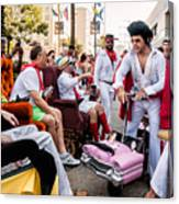 Motorized Recliners And Elvis - Nola Canvas Print