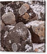 Mottled Stones Canvas Print
