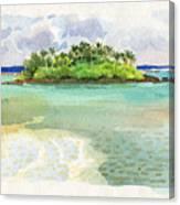 Motu Taakoka Canvas Print