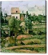 Moulin De La Couleuvre At Pontoise Canvas Print