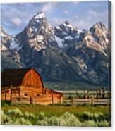 Moulton Barn Canvas Print