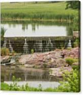 Mound Lake Dam 2 Canvas Print
