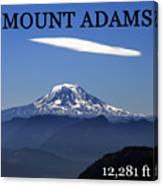 Mount Adams Poster  Canvas Print