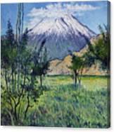 Mount Ararat North Eastern Anatolia Turkey 2006  Canvas Print