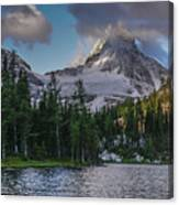 Mount Assiniboine In Clouds Canvas Print