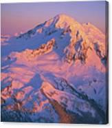 Mount Baker At Sunset Canvas Print