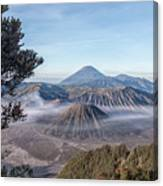 Mount Bromo National Park - Java Canvas Print