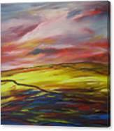 Mount Callan Sunlight Canvas Print