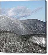 Mount Carrigain - White Mountains New Hampshire Usa Canvas Print