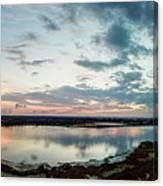 Mount Dora Fl Sunset Canvas Print