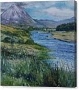 Mount Errigal Co. Donegal Ireland. 2016 Canvas Print
