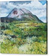 Mount Errigal County Donegal Ireland 2016 Canvas Print