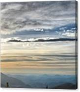 Mount Evans Painterly 1 Canvas Print