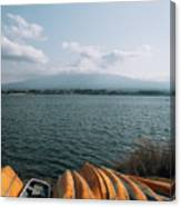 Mount Fuji View Canvas Print