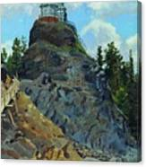 Mount Grace 1890 Apollinaris M Vasnetsov Canvas Print
