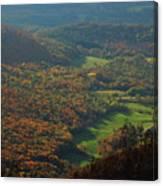 Mount Greylock Foliage View Canvas Print