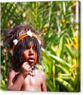 Mount Hagen Papua New Guinea Aog 91 Canvas Print