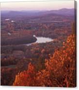 Mount Holyoke Foliage Canvas Print