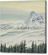 Mount Hood Evening Canvas Print