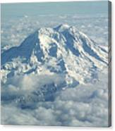 Mount Hood From Above Canvas Print
