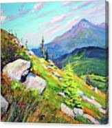 Mount Hoverla Canvas Print