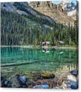 Mount Huber At Lake O'hara Canvas Print