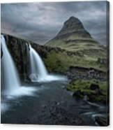 Mount Kirkjufell Iceland Canvas Print