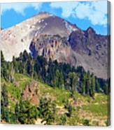 Mount Lassen Volcano Canvas Print