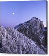 Mount Liberty Blue Hour Canvas Print