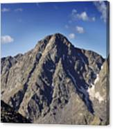 Mount Of The Holy Cross In The Sawatch Range Of The Colorado Rockies Canvas Print