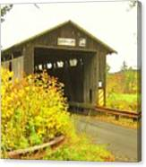 Mount Orne Covered Bridge Canvas Print