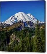 Mount Rainier - Eastside Canvas Print